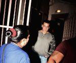 Salman Khan seen at Bandra