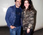 "Special screening of film ""My Birthday Song"" - Samir Soni and Neelam Kothari"