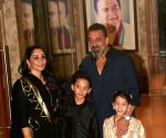 Sanjay Dutt celebrates Diwali party at his house in Bandra