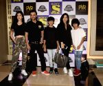 "Special screening of ""Jurassic World: Fallen Kingdom"" - Sanjay Kapoor, Maheep Sandhu, Shanaya Kapoor and Jahaan Kapoor"