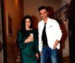 """Pre-release party of film """"Karwaan"""" - Sanjay Kapoor and Maheep Sandhu"""