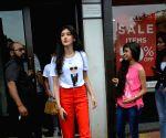 Shanaya Kapoor seen at Mumbai's Bandra