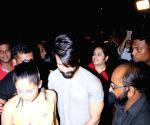 Shahid Kapoor spotted at Bastian Restaurant