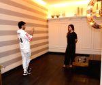 Shahid Kapoor, Mira Rajput visit Gauri Khan's store