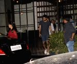 Shahid Kapoor and Mira Rajput seen at Mumbai's Andheri