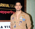 Launch of Carnival cinema Lounge - Sidharth Malhotra