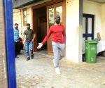 Sidharth Malhotra seen at Bandra dubbing studio