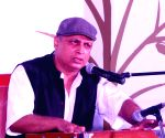 Piyush Mishra performs during Poetry festival