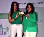 Sonali Bendre launches Oriflame Ecollagen Range