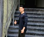 Sooraj Pancholi seen outside a gym