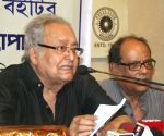 Book launch - Soumitra Chatterjee, Ashok Bhattacharya