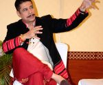 Sudesh Berry during a press conference