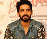 Sushanth during a interview