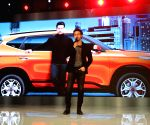 Tiger Shroff at the launch of Kia Seltos