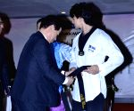 Tiger Shroff displays his Taekwondo