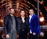 Rohit Shetty, Tiger Shroff, Karan Johar at Filmistan Studio