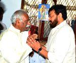 Venkaiah Naidu meets Bandaru Dattatreya