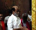 Rajinikanth visits Sri Raghavendra Math