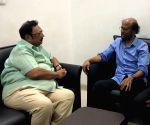 Rajinikanth visits Kauvery Hospital