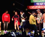 Varun Dhawan at Breezer Vivid Shuffle hip hop dance festival