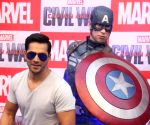 Varun Dhawan launches Captain America figurines