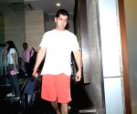 Varun Dhawan's family members and girlfriend seen at Juhu
