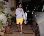 Varun Dhawan seen at a gym