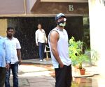 Varun Dhawan seen at Bandra