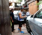Varun Dhawan seen outside a gym