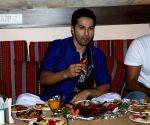 Varun Dhawan visits Persian Darbar hotel for  Roza Iftar Party