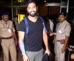 Vicky Kaushal seen at Mumbai Airport