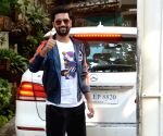 Vicky Kaushal seen at Mumbai's Juhu