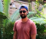 Vicky Kaushal seen at Juhu