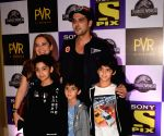 "Special screening of ""Jurassic World: Fallen Kingdom"" - Zayed Khan, Malaika Parekh, Zidaan Khan and Aariz Khan"