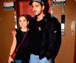Zayed Khan and Malaika Parekh seen at a cinema theatre