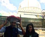Ajmer (Rajasthan): Aadar Jain, Anya Singh at Ajmer Sharif Dargah