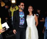 "Special screening of his film ""Nanu Ki Jaanu"" - Abhay Deol and Patralekhaa"
