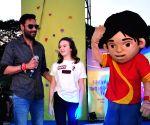 : Mumbai: Promotion of film Shivaay