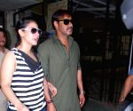 2012 Lok Sabha Polls - Sixth Phase - Ajay Devgan and Kajol