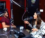 "Song launch of film ""Manmadhudu 2"" at 93.5 Red FM"
