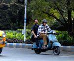 Amitabh Bachchan shoots in Kolkata