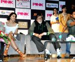 "Pink"" - promotion - Amitabh Bachchan, Taapsee Pannu, Angad Bedi, Shoojit Sircar"