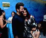 "Special screening of film ""Fanney Khan"" - Anil Kapoor, Aishwarya Rai Bachchan and Aaradhya Bachchan"