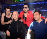 "Promotion of film ""Baa Baaa Black Sheep"" - Anupam Kher, Maniesh Paul, Mika Singh and Vishwas Pandya"