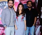 "Promotion of the song 'Kanha' from the film ""Shubh Mangal Savdhan"