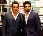 Race 3 exculsive collection by Blackberrys - Bobby Deol and Saqib Saleem