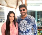 "Chunky Pandey and Manisha Koirala at Promotion of film ""Prasthanam"