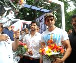 Dino, Hrithik, Aditya launches DM Fitness Studio