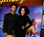 "Special screening of film ""Kuchh Bheege Alfaaz"" - Geetanjali Thapa and Zain Khan Durrani"