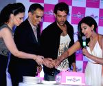 Hrithik Roshan, Lisa Ray at the launch of an  e-commerce website